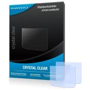 2 x SWIDO Crystal Clear Screen Protector for Canon Legria Mini X - PREMIUM QUALITY