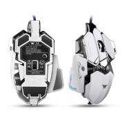 Aizbo C80 Gaming Mouse with 4,800 DPI, Programmable 10 Buttons, USB Wired Gaming Mice for Pro Gamer