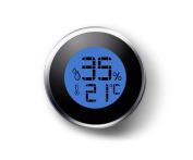 Hygrometer Humidity Metre Digital Thermometer Sensor Indoor Outdoor Gauge
