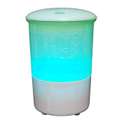 Iafer Portable USB Car Air Refresher Essential Oil Diffuser with Colourful LED lights for car, Office or Hom
