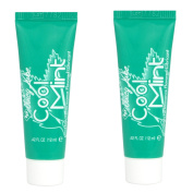 2 x ID Juicy Lube Cool Mint Flavoured 12ml Water Based