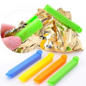 MAXGOODS Colourful Plastic Sealing Bag Clips,Random Colour,Set of 20