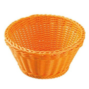 Saleen Round Trend Basket, Orange, 18 x 10 cm
