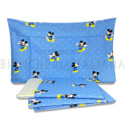 Caleffi Disney Baby Bedding Set Cot Crib Mickey Forever