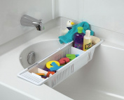 KidCo Bath Toy Organiser Storage Basket, White - 2 Count