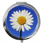 Pocket mirror / daisy / Double enlargement