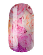 Nail Wraps by Glamstripes - Pink Roses