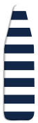 Whitmor Standard Ironing Board Cover & Pad, Navy Stripe