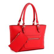 AiteFeir For Women Hobos Totes Luxury Leather Handbag And Purse Shoulder Zipper Bag Fashion Satchel