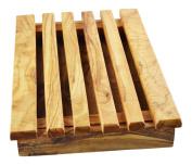Olive Wood Bread Board, Grain/Natural
