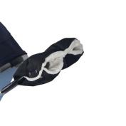 AutoLover Plush Stroller Hand Muff, Warm Winter Hand Muff, Pram Stroller Accessory, Water Resistant Gloves, BLACK