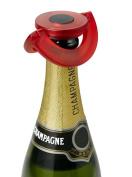 AdHoc Prosecco / Champagne Stopper Gusto Red, Plastic / Silicone, FV35