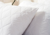 Belledorm Quilted Pillow Protector - Anti-Allergy Protection - 100% Cotton Percale Surface