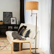 HOME Floor Lamp Modern Minimalist Living Room Floor Lamp Bedroom Bedside Vertical Nordic Creative Floor Lamp
