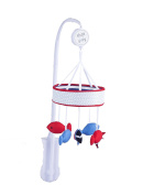 Redkite Ships Ahoy Carousel Musical Mobile - Suitable From Birth