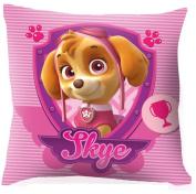 Kids Euroswan - Paw Patrol PW16048 Pillow 40 x 40 cm. 2 sides - Pink : Skye