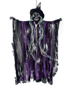 .  Electric Hanging Scream Witch Ghost Doll For Halloween Decoration Party