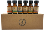 Pure Joy Aromatherapy Premium Kit Top 6 Essential Oils Gift Set 10ml 100% Pure & Therapeutic grade