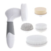 Wemelody® Facial Cleansing Brush Skin Care Scrub Cleanser Waterproof Body Rotary Brush Skin Cleansing System for Cleaning - Pore Minimizer - Body Acne Remover - Dark Spot Corrector