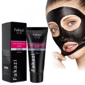 Blackhead Remover, Tearing Style Deep Cleansing Purifying Peel Off the Black Head, Acne Treatment, Black Mud Face Mask