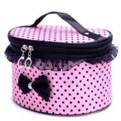 Hatop Portable Travel Toiletry Makeup Cosmetic Bag Organiser Holder Handbag