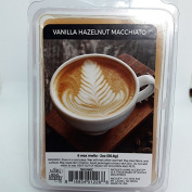 Vanilla Hazelnut Macchiato Scented Wax Cubes / Melts - 60ml . Hand poured wax infused with essential oils