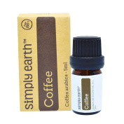 Coffee Essential Oil by Simply Earth - 5ml, 100% Pure Therapeutic Grade