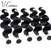 V-Emma 8A Brazilian Virgin Hair Body Wave Human Hair Weave 5 Bundles cheap 100% Brazilian Human Hair Extensions