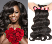 Nadula Hair 7a Best Quality Brazilian Virgin Hair Body Wave Extensions 4 Bundles 10 12 14 16 Brazilian Wavy Unprocessed Human Hair Weave Natural Colour