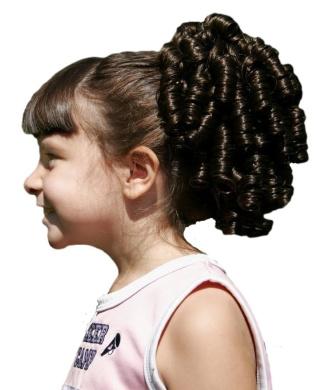 Cheerleader Ringlet Curly Drawstring Ponytail (26)