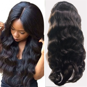 Tony Beauty Hair Body Wave Silk Base 4x 4 Top Full Lace Wig Unprocessed Brazilian Virgin Human Hair Glueless Lace Front Wig With Baby Hair