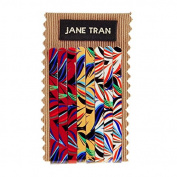 Jane Tran Abstract Expressionist Print Bobby Pin Set