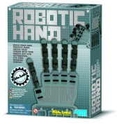 Great Gizmos KidzLabs New Smart Toy 4M Robotic Hand Fun Technology Science Kit