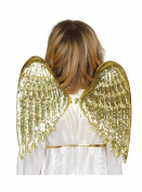 Gold Plastic Wings - Small