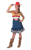 Rubie's Official Ladies Jessie Costume Toy Story, Adult Costume - Small