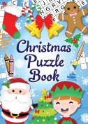 12 Mini Christmas Puzzle Activity Books A6 - Girl or Boys Party Bag Fillers