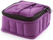 Plant Therapy Essential Oils Purple Soft Essential Oils Carrying Case