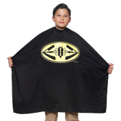 Kid's Razor Salon Quality Cape 90cm X 100cm Winged Image Crinkle Nylon Material Light Weight Extra Durable Protection