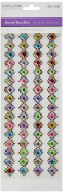 Multicraft Imports MultiCraft Jewel Border Stickers -Diamond Bling, Other, Multicoloured