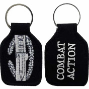 U.S. ARMY COMBAT ACTION BADGE CAB KEY CHAIN - Multi-Coloured - Veteran Owned Business