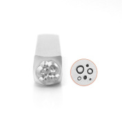 ImpressArt- Circle & Dot Texture Design Stamp, 6mm