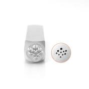 ImpressArt- Solid Dot Texture 1 Metal Stamp, 6mm