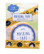 Washi tape Amifa Cute Happy Cats Collection Masking Deco Tape Standard.