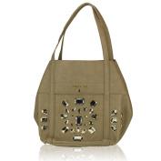 PATRIZIA PEPE Women's Shoulder Bag beige S448