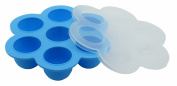 Wuzmei Silicone Multiportions Container - Baby Food Storage Silicone Tray