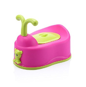 Cute Baby Potty Toilet Training Seat For Children Non-slip Chair Soft Secure Boys Girls Child - Pink
