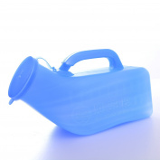 Lazada Boy's Portable Urinal Hospital Travel Car Emergency Men's Sealed Pee Bottle 1000 ML