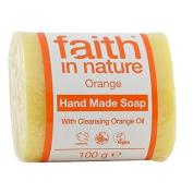 Faith in Nature Orange Pure Hand Made Soap 100g