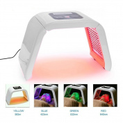 Carer Portable 4 Colour LED Light Mask Skin Rejuvenation Photon PDT Wrinkle Acne Removal Anti-ageing Facial Care Beauty Machine