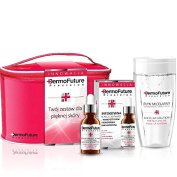 DermoFuture Therapy Stem Cells Nanopeptide + Liquid Micellar + Bag Gift Set